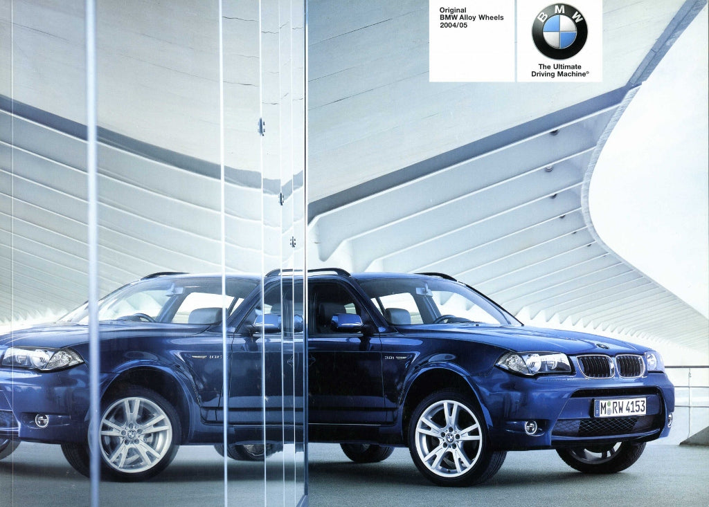 Original BMW Alloy Wheels 2004/05 - Brochure - S 9.4