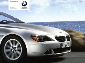 Brochure - The New 2004 BMW 6 Series Convertible 645Ci - E64 Brochure