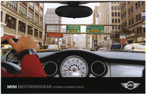 Brochure - MINI MotoringGear Spring/Summer 2003 Brochure