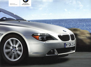 2007 BMW 6 Series 650i Coupe 650i Convertible - E63 / E64 Brochure (2nd version) - S 8.3