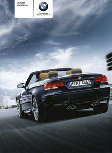 The all-new 2008 BMW M3 Convertible - E93 Brochure (2nd version) - S 9.2