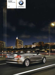 Brochure - The all-new 2008 BMW 1 Convertible 128i 135i - E88
