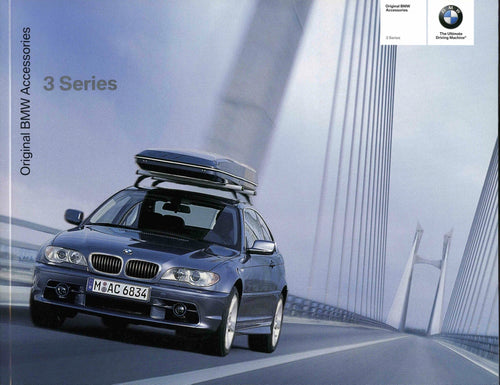 Brochure - Original BMW Accessories 3 Series - 2003 E46 Brochure