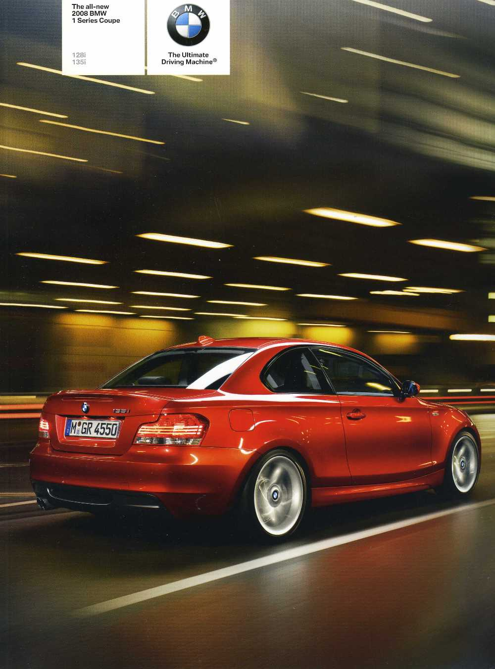 Brochure - The all-new 2008 BMW 1 Series Coupe 128i 135i - E82 (Lg)