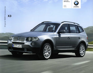 Brochure - Original BMW SAV Accessories X3 2.5i X3 3.0i X3 3.0si - 2007 E83 Brochure