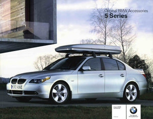 Brochure - Original BMW Accessories 7 Series - 02 E65 / E66 Brochure