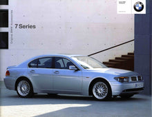 Load image into Gallery viewer, Brochure - Original BMW Accessories 7 Series - 02 E65 / E66 Brochure
