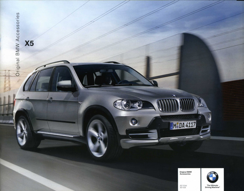 Brochure - Original BMW Accessories X5 2006 Brochure - E70