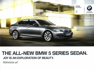 Brochure - The all-new 2011 BMW 5 Series Sedan 528i 535i 550i - F10 Brochure