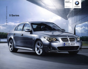 Brochure - Original BMW Accessories 2008 5 Series Sedan Sports Wagon - E60 / E61 Brochure