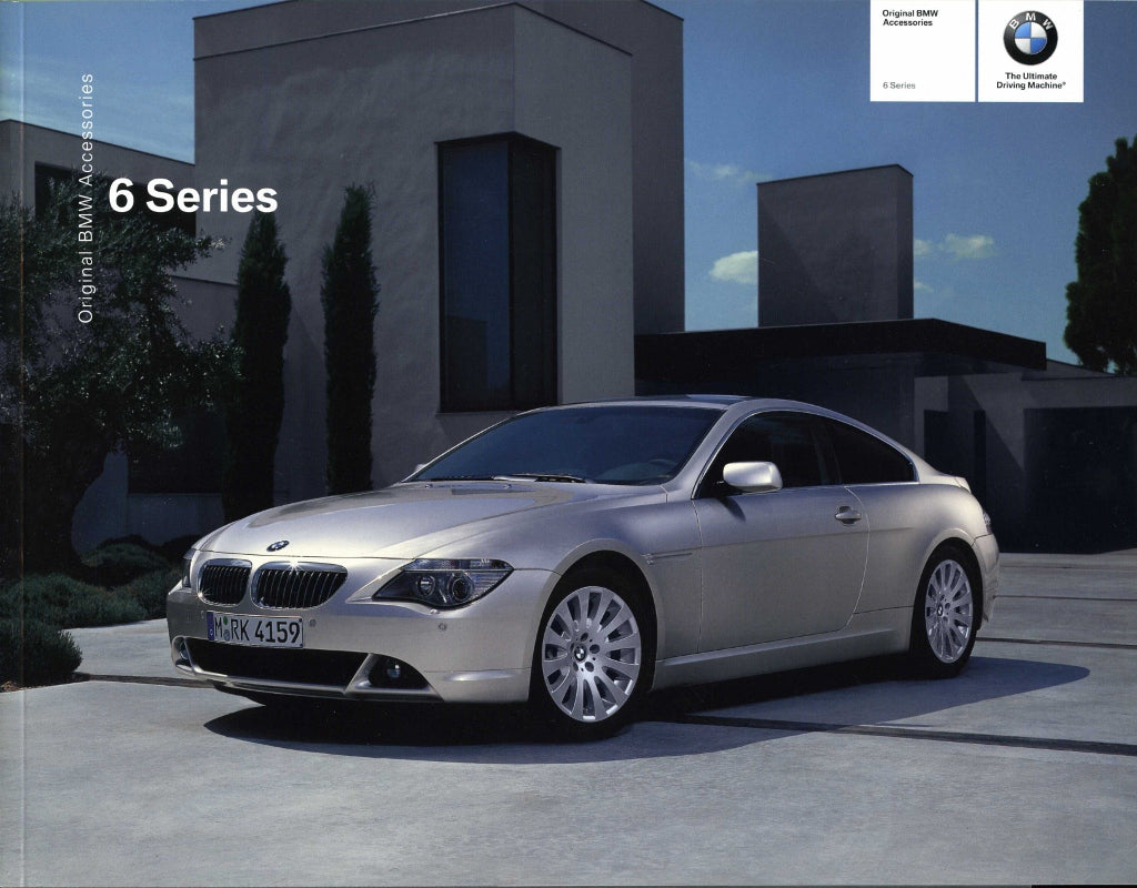 Original BMW Accessories 6 Series - 2004 E63 / E64 Coupe / Convertible Brochure - S 9.4
