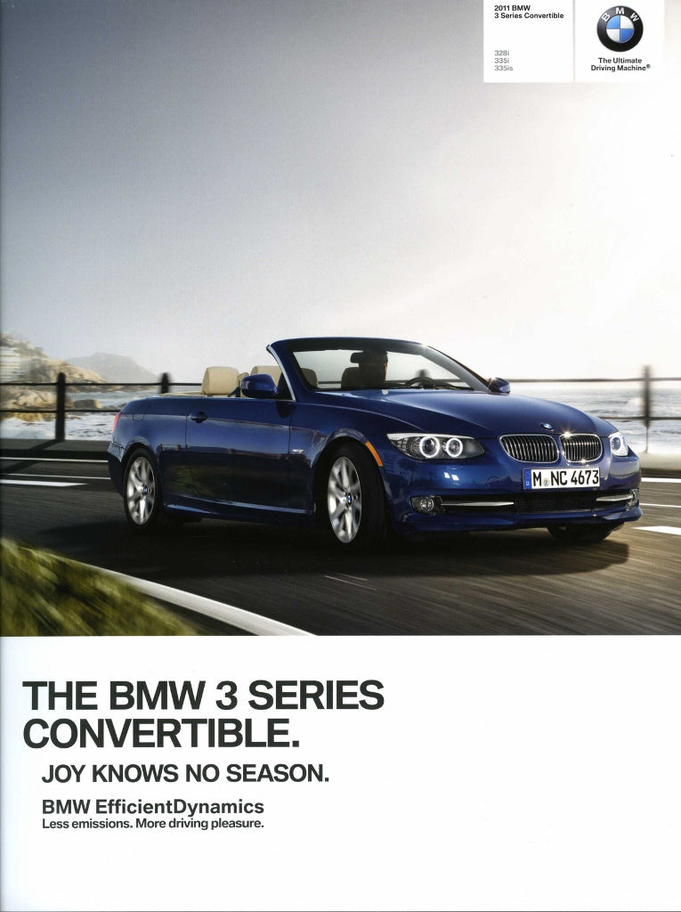 Brochure - BMW 2011 3 Series Convertible 328i 335i 335is - E93 Brochure