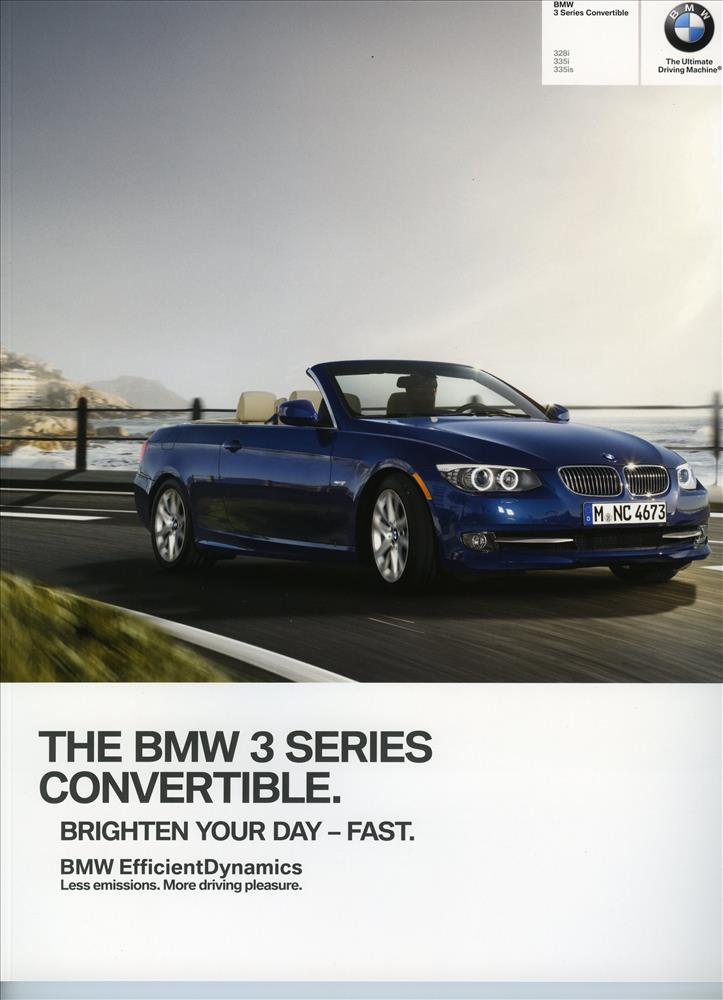 Brochure - 2012 BMW 3 Series Convertible 328i 335i 335is - E93
