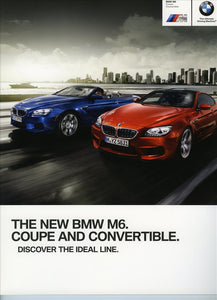 Brochure - BMW M6 Coupe Convertible - 2012 F12 / F13 Brochure