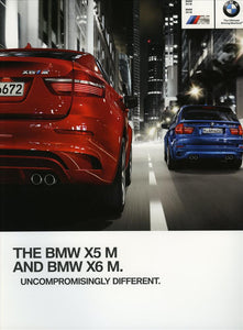 Brochure - BMW X5 M BMW X6 M - 2012 E70 / E71 Brochure (1st version)
