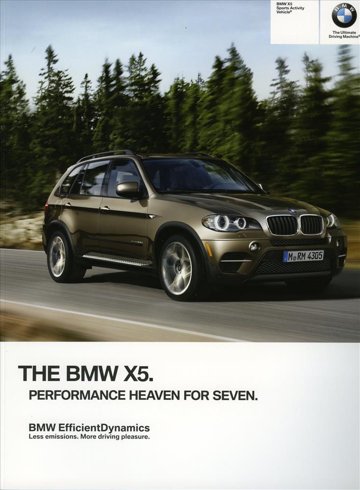 Brochure - BMW X5 Sports Activity Vehicle - 2012 E70 Brochure (late 2011 edition)