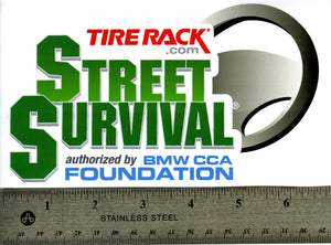Decal - Tire Rack Street Survival Decal - 7""
