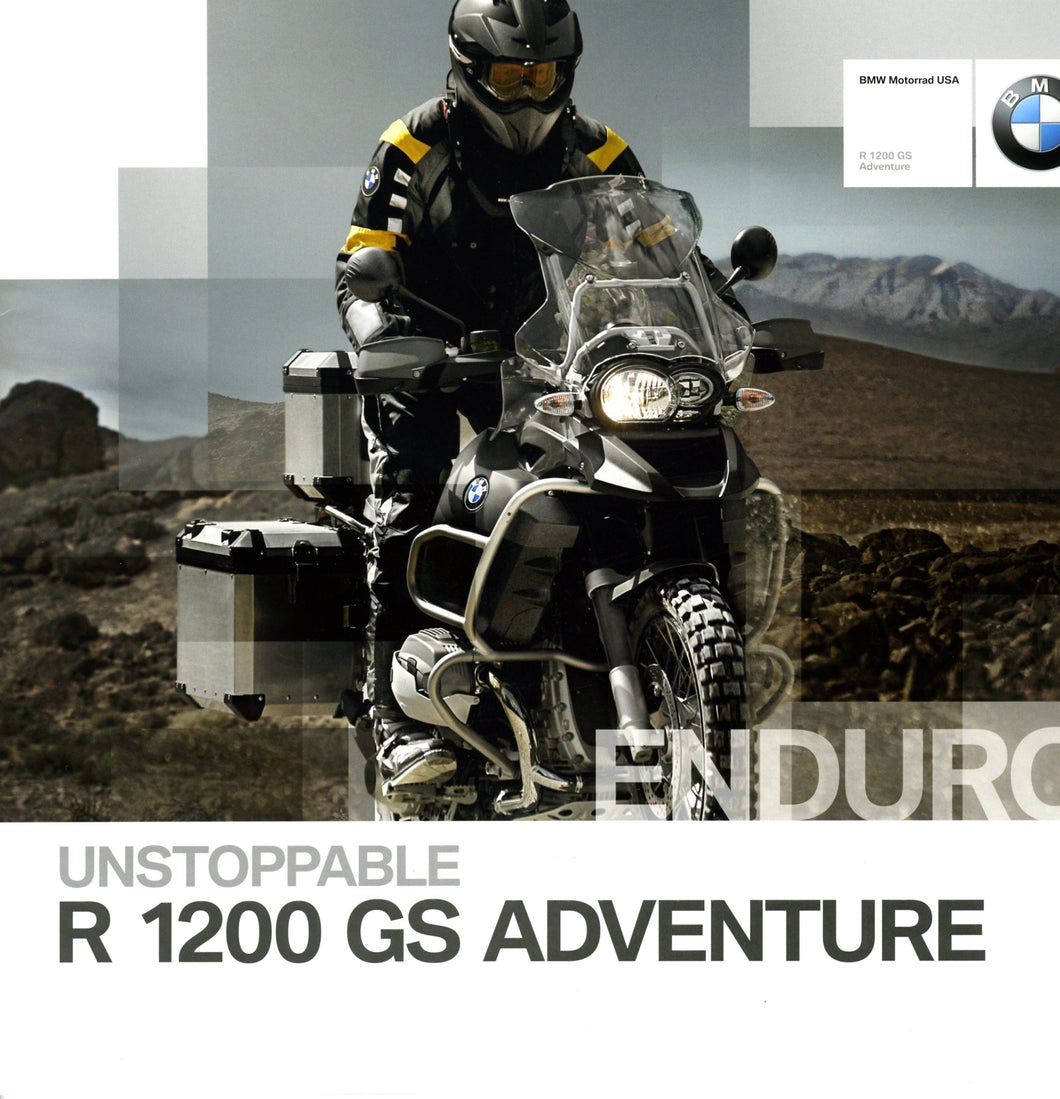 Brochure - BMW Motorrad USA R 1200 GS Adventure - 2009 R1200GS Brochure