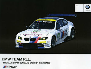 Signature Card - 2012 BMW Team RLL Signature Card