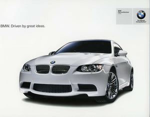 Brochure - BMW Full Line Brochure 2008 BMW. Driven by great ideas