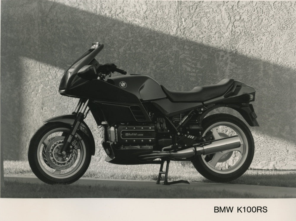 Press Photo - BMW K100RS Motorcycle Press Photo