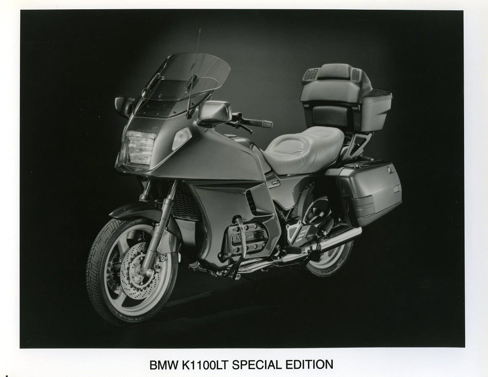 Press Photo - BMW K1100LT Special Edition Motorcycle Press Photo