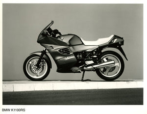 Press Photo - BMW K1100RS Motorcycle Press Photo
