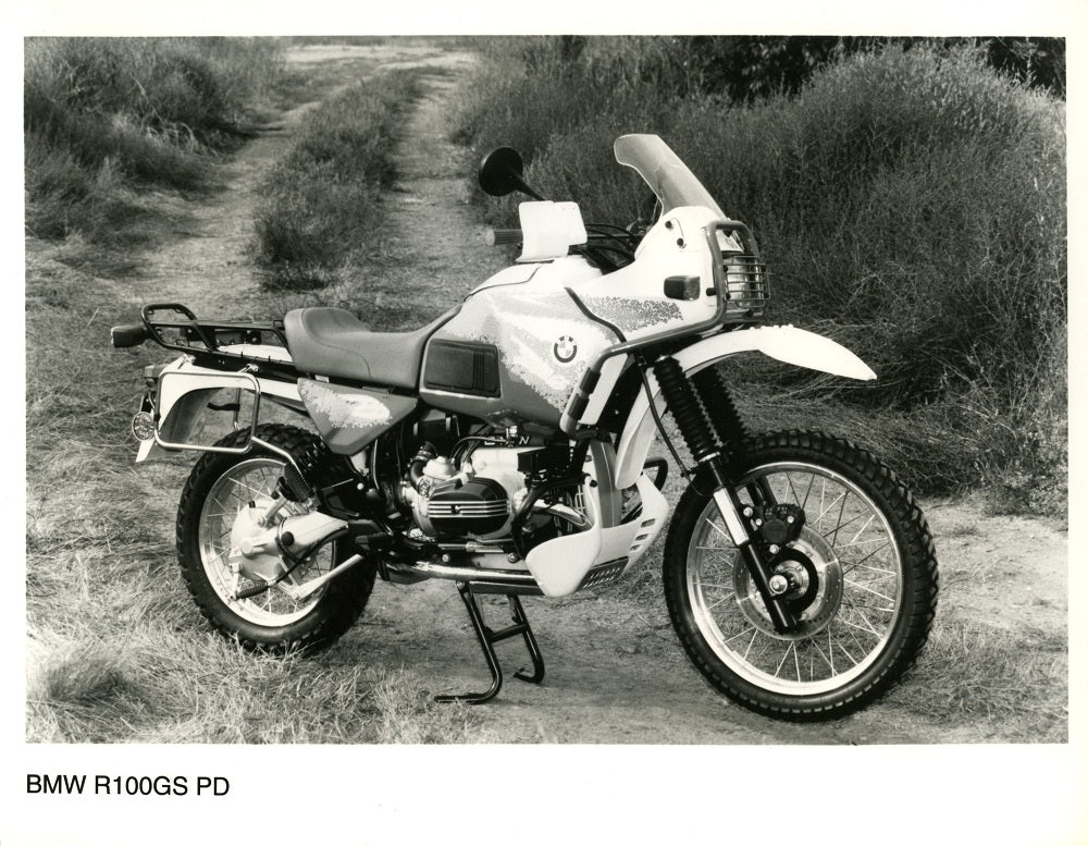 Press Photo - BMW R100GS PD Motorcycle Press Photo (2nd version)