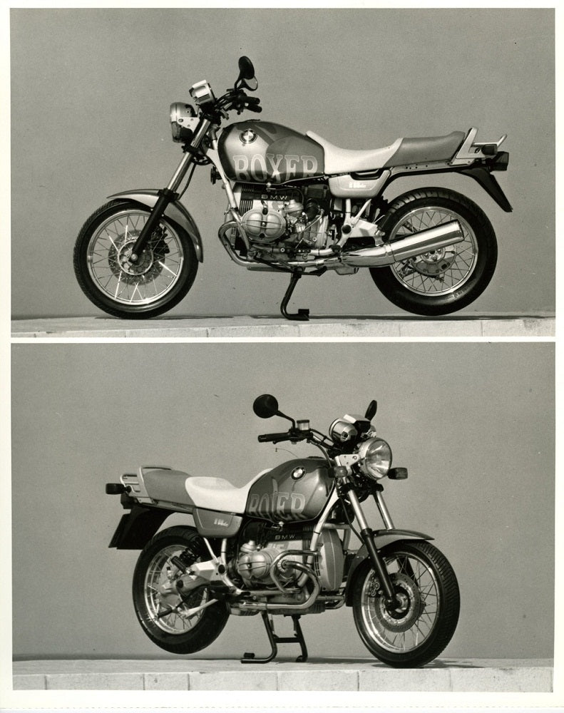 BMW Boxer Motorcycle Press Photo (2nd version) - S 1.3