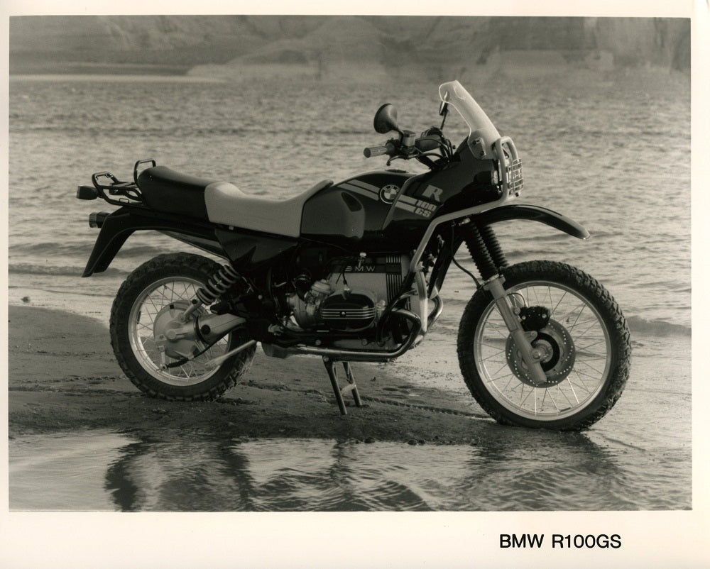 Press Photo - BMW R100GS Motorcycle Press Photo (1st version)