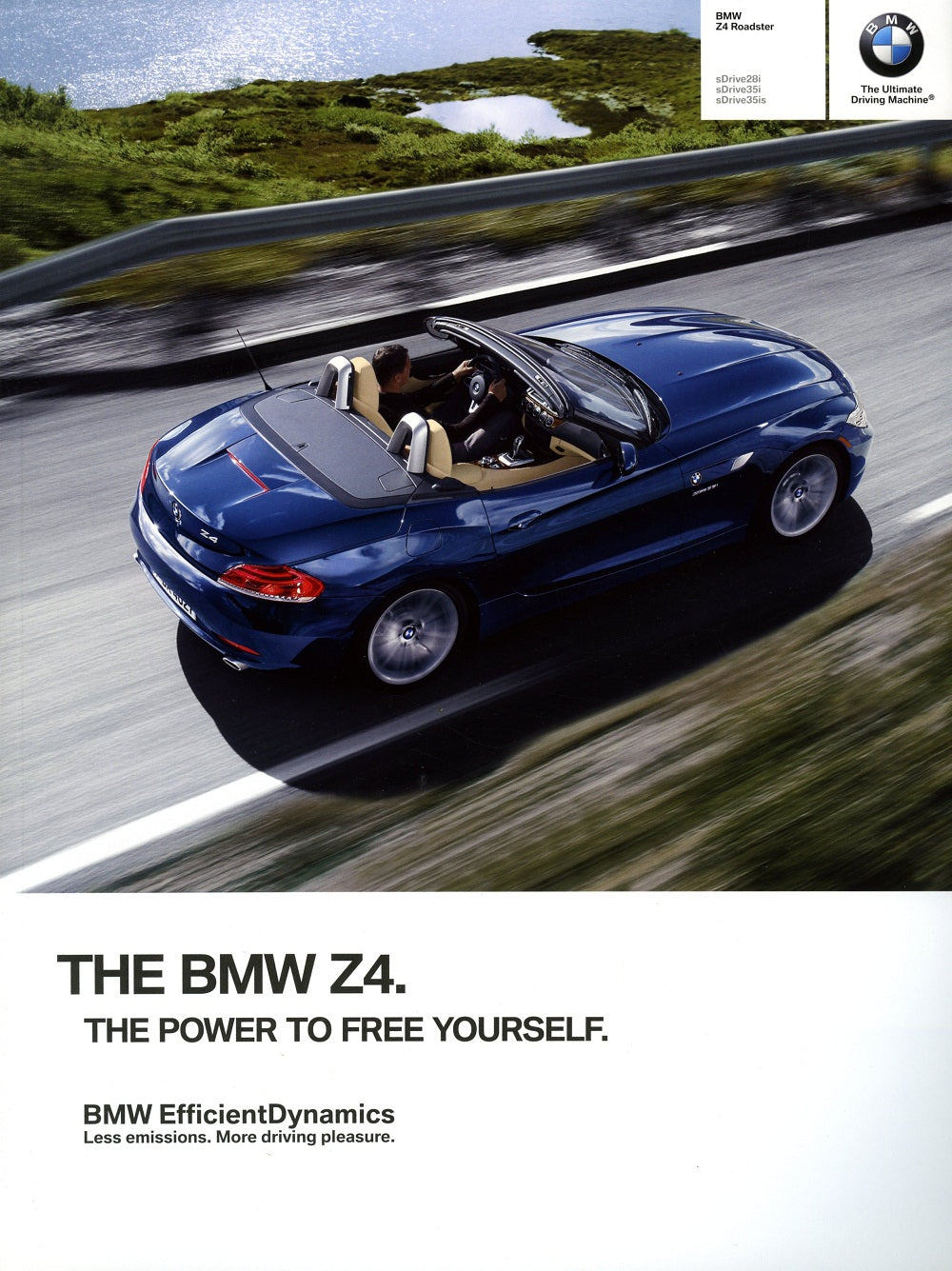Brochure - BMW Z4 Roadster sDrive28i sDrive35i sDrive35is - 2012 E89 Brochure