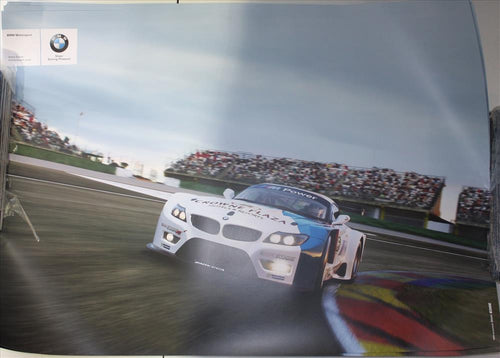 Poster - BMW Motorsport RLL E89 Z4 GT - Double Side Poster