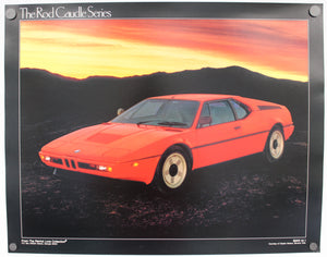 BMW M1 in Red from Rod Caudle Series