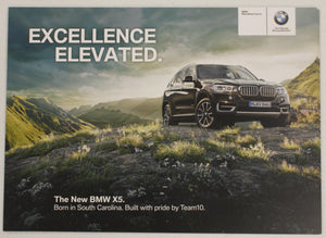 Poster - Excellence Elevated. The New BMW X5. small BMW F15