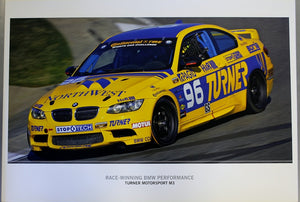 Poster - Race-Winning BMW Performance Turner Motorsport M3