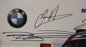 Autographed Poster - Michelin Technical Partner Team Tudor United SportsCar Championship - E89 Z4 GTLM