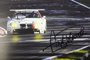Autographed Poster - Memorable Moments. A successful 2010 season for the BMW M3 GT2