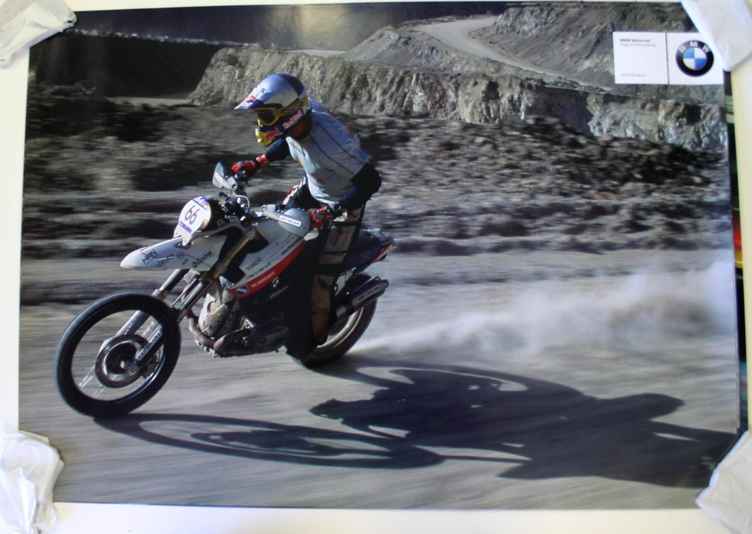 Poster - BMW Motorrad High Performance HP2 Enduro Poster (3rd)