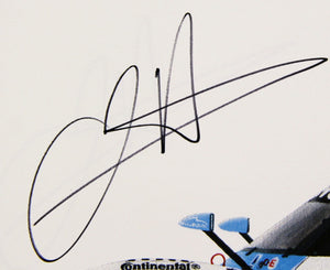 Autographed Print - BMW Riley Print - Winner of the 2011 Rolex 24 At Daytona Race