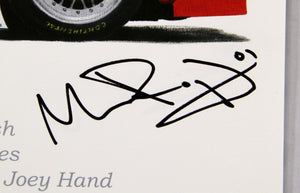 Autographed Print - BMW Riley - Winner of the 2011 Rolex 24 At Daytona Race