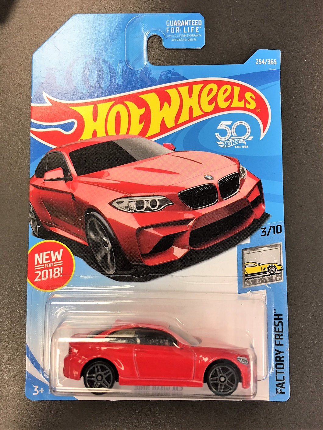 Hot Wheels Mattel 2018 Basic Die-Cast Factory Fresh: 2016 M2 (Red)