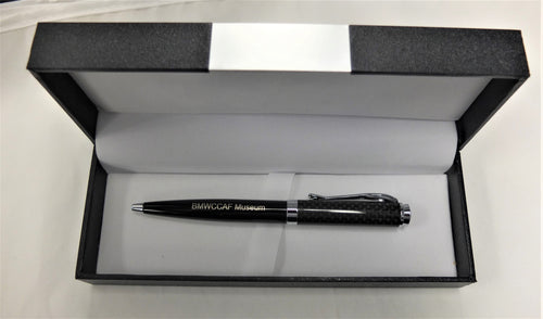 Carbon Fiber BMW CCA Foundation Museum Pen/2002 Etched on Box