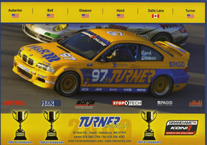 Signature Card - Turner Motorsport Team 2009 #97