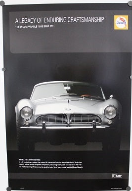 Poster - A Legacy of Enduring Craftsmanship - The Incomparable 1958 BMW 507