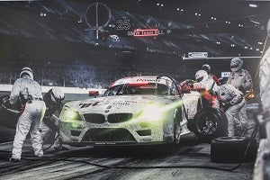 Poster - BMW Motorsport H&R - E89 Z4 GTLM at Daytona