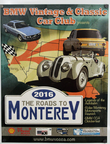 Poster-The Roads to Monterey Poster