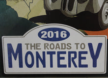 Load image into Gallery viewer, Poster-The Roads to Monterey Poster