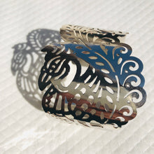 Load image into Gallery viewer, Bracelet Manchette Peacock (paon)