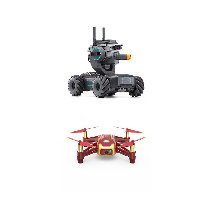 DJI Robomaster +  Ryze Tech Tello - Iron man
