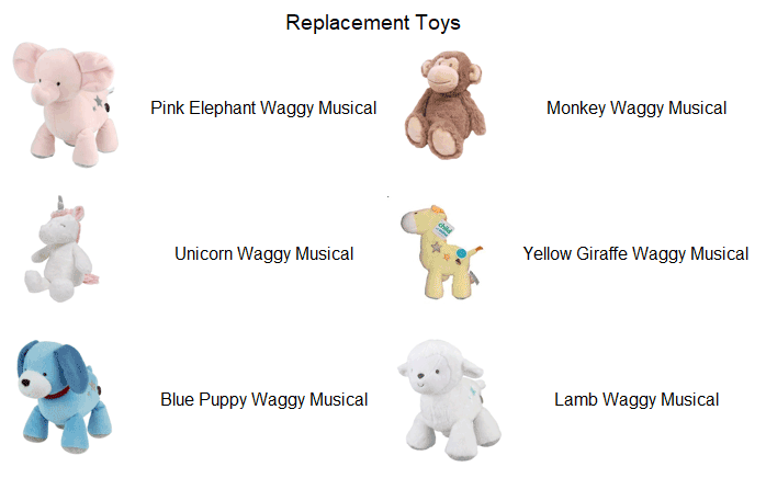 Recall Replacement Toys